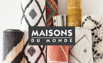 Free Delivery on Home Accessory Orders Over £150 at Maisons du Monde