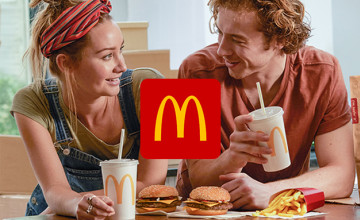 Get Special Offers with My McDonald's app at McDonald's