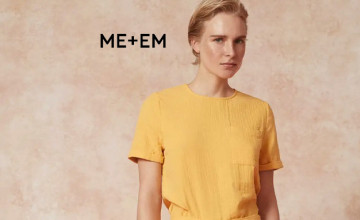 Up to 50% Off in the Sale at ME+EM