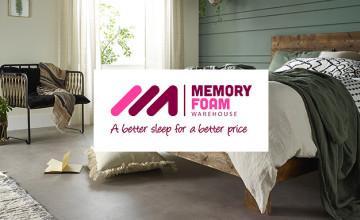 10% Off Orders at Memory Foam Warehouse