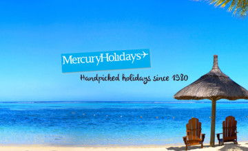 £75 Gift Card with Orders Over £2500 at Mercury Holidays