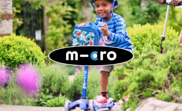 10% Off 2 or More Scooter Orders at Micro Scooters