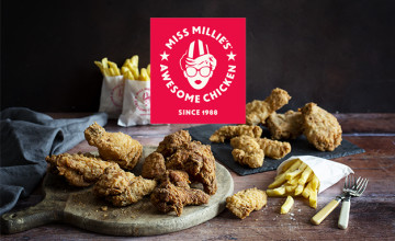 Free Mini Fillet Burger When You Sign-up to the App at Miss Millies