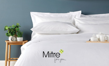 £5 Gift Card with Orders Over £60 at Mitre Linen