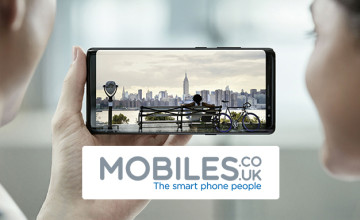 £20 Off Upfront Costs on Selected Orders at Mobiles.co.uk