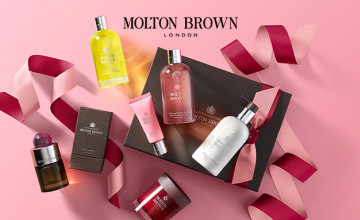 Save as Much as £40 in the Outlet at Molton Brown