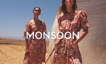 £5 Gift Card with Orders Over £100 at Monsoon