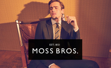 £10 Gift Card with Orders Over £80 at Moss Bros