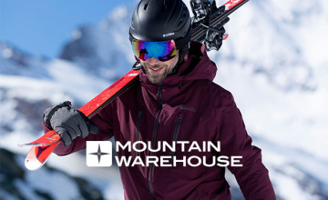 10% Off $60 Purchase with a Mountain Warehouse Discount Code
