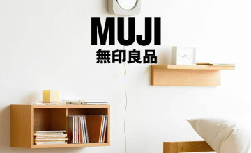 £10 Off First Orders Over £50 for New MUJI Members