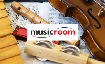 Free £5 Voucher with Orders Over £50 at Musicroom.com