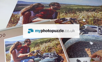 Free £5 Voucher with Orders Over £40 at My Photo Puzzle