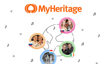 Save £40 on First Year Data Membership at MyHeritage
