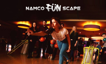 1 Hour of Bowling for Six People (Only £39) at Namco Funscape