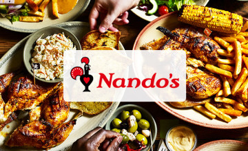Shop Gift Cards from Only £10 at Nando's