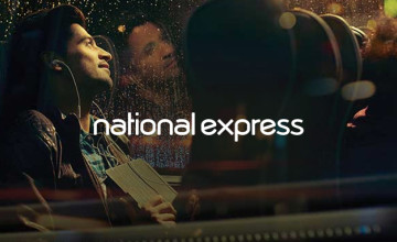 1/3 Off Standard and Fully Flexible Fares with Coachcard Orders at National Express