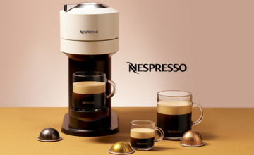 Machine for Only £1 with Subscription Plans from £20 a Month at Nespresso