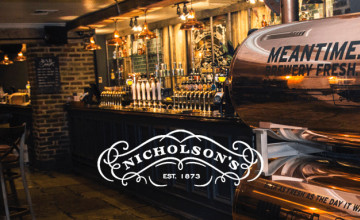 Sign-up and Get 25% Off at Nicholson's Pubs