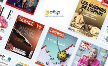 Magazines à petits prix jusqu'à -70% chez Ofup