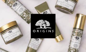 15% Off First Orders Over £30 at Origins