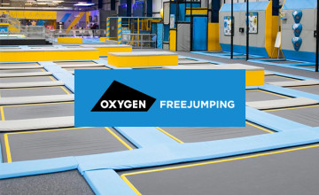 20% Off Tickets at Oxygen Freejumping