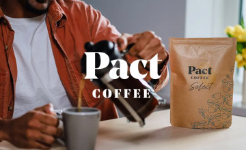 40% Off First and Third Orders at Pact Coffee