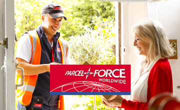 14% Off International Services at Parcelforce