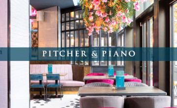 You Can Enjoy Bottomless Brunch for Just £28 at Pitcher & Piano