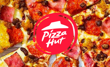 Medium Pizza + Garlic Bread or Potatoes + 2 Cans of Coke for €19.95 at Pizza Hut