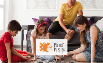 2€ de réduction dès 35€ d'achat avec le code de réduction Planet'Puzzles