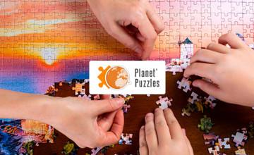10% de remise dès 19€ d'achat sur les puzzles photo personnalisés chez Planet'Puzzles