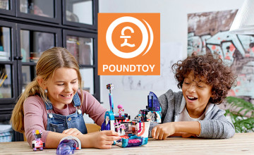 Extra 50% Off Clearance at PoundToy