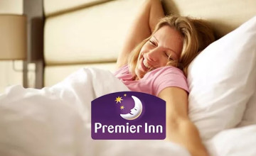 Free £5 Voucher with Upfront Bookings Over £300 at Premier Inn