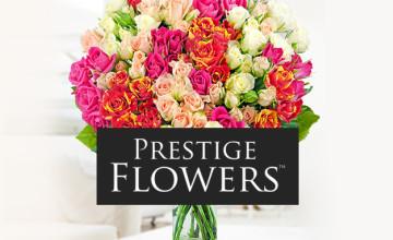 50% Off Selected Birthday Flowers at Prestige Flowers 🎂