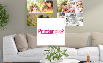 Free £5 Voucher with Orders Over £20 at PrinterPix