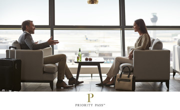Standard Plus Membership for £189 at Priority Pass - 10 Free Visits Included!
