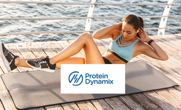 Delivery is Free When You Spend £40+ at Protein Dynamix