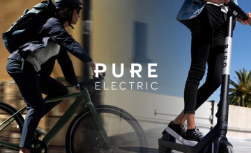 Up to 30% Off Selected Electric Scooters at Pure Electric