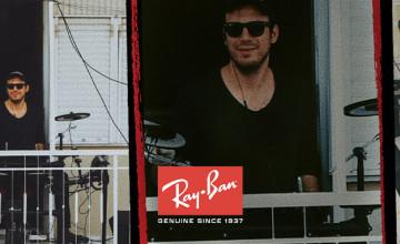 -15% de réduction sur les produits personnalisés Ray-Ban® 🤑 + livraison gratuite