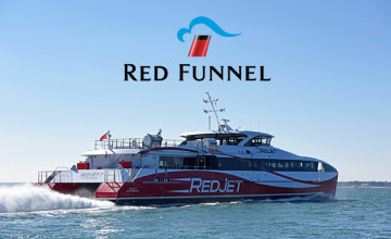 25% Off Ferry Travel with Accommodation Bookings at Red Funnel