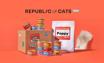 First Two Week Taster Box Orders for £2.50 at Republic of Cats - Save £12.50!