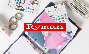 50% Off Selected Orders | Ryman Promotion