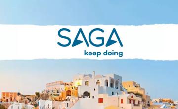 £100 Gift Card with Orders Over £3,300 at Saga Holidays