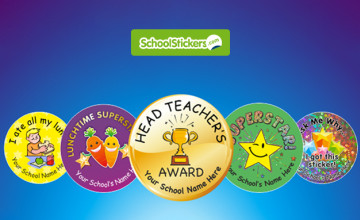 Free Delivery on Orders at School Stickers