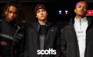 Up to 50% Off Half Term Offers + Extra 10% Off with This Discount Code at Scotts Menswear