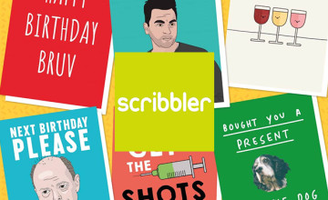 £5 Gift Card with Orders Over £45 at Scribbler