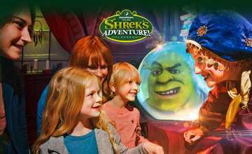 Up to 30% Off Standard London Tickets at Shrek's Adventure