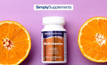 8% Off Orders at Simply Supplements