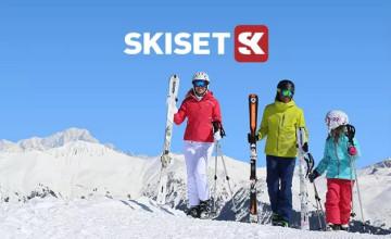 Grab up to 50% Off Ski Hire at Skiset