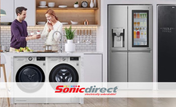 Free £15 Voucher with Orders Over £360 at Sonic Direct